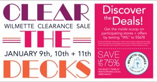 Clear the Decks Sale